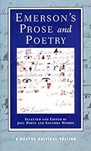Emerson's Prose and Poetry (Norton Critical…