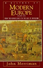 A History of Modern Europe: From the…