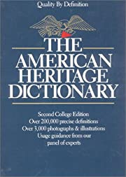 The American Heritage Dictionary de William…