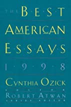 The Best American Essays 1998 by Cynthia…