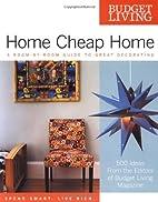 Budget Living Home Cheap Home: A…