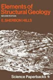Elements of structural geology / [by] E. Sherbon Hills