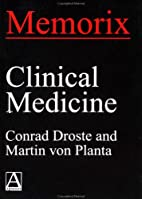 Memorix Clinical Medicine (Memorix Series)…