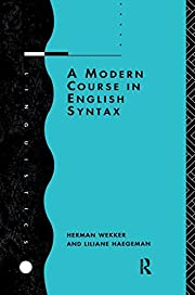 A Modern Course in English Syntax…