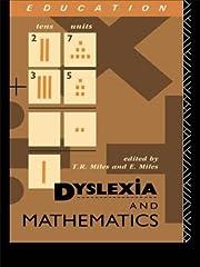 Dyslexia and Mathematics av Elaine Miles