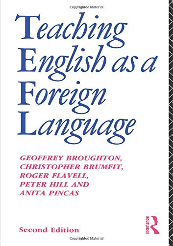 PDF] Teaching English as a Foreign Language (Routledge