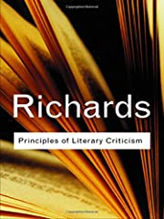 Principles of Literary Criticism (Routledge…