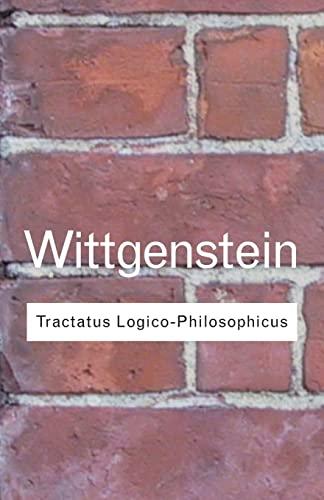 Tractatus Logico-Philosophicus, by Wittgenstein, L.