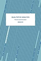 Qualitative Analysis: Practice and…