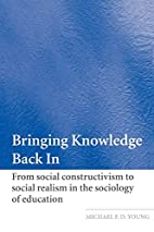 Bringing Knowledge Back In: Theoretical and…