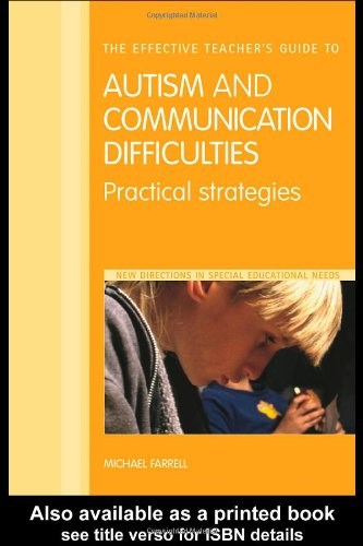 PDF] The Effective Teacher's Guide to Autism and Communication