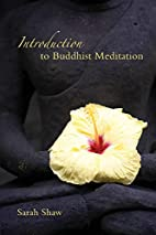 Introduction to Buddhist Meditation by Sarah…