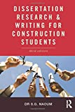 Dissertation writing and research for construction students