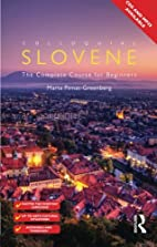Colloquial Slovene: The Complete Course for…