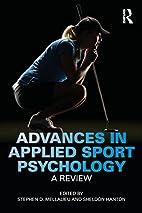 Advances in Applied Sport Psychology: A…