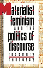 Materialist Feminism and the Politics of…