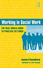 Working in social work : the real world…