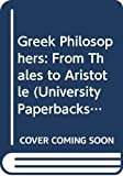 The Greek philosophers from Thales to Aristotle / W.K.C. Guthrie