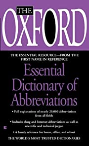 The Oxford Essential Dictionary of…