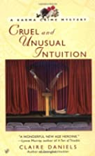 Cruel and Unusual Intuition: A Karma Crime…