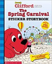 The spring carnival sticker storybook –…