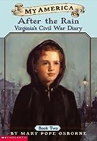 My America: After The Rain, Virginia's Civil…