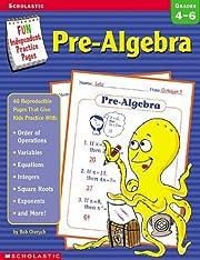 Pre-Algebra: Fun Independent Practice Pages…