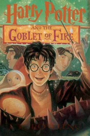 Harry Potter and the Goblet of Fire written by J.K. Rowling part of Harry Potter