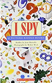 I Spy: 4 Picture Riddle Books (School Reader…