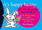 It's Happy Bunny Postcard Book by Jim Benton