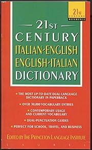Italian-English/English-Italian Dictionary…