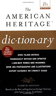 The American Heritage Dictionary: Fourth…