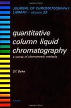 Quantitative Column Liquid Chromatography: A…