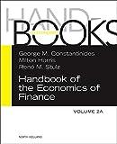 Handbook of the economics of finance / edited by G.M. Constantinides, M. Harris, R.M. Stulz