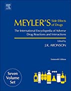 Meyler's Side Effects of Drugs,…