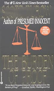 The burden of proof por Scott Turow