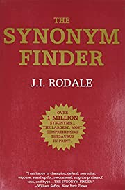 The Synonym Finder – tekijä: J. I. Rodale