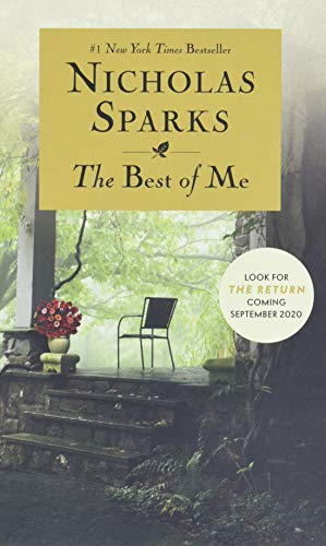 The Best Of Me written by Nicholas Sparks