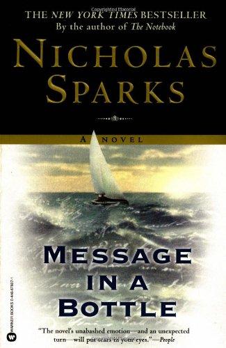 Message in a Bottle written by Nicholas Sparks