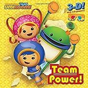TEAM POWER! - 3-D 8X by Random House