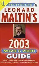 Leonard Maltin's 2003 Movie and Video Guide…