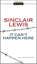 It Can't Happen Here (Signet Classics) by…