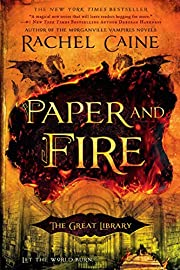 Paper and Fire (The Great Library) de Rachel…
