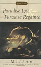 Paradise Lost and Paradise Regained (Signet…