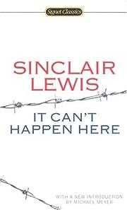 It Can't Happen Here (Signet Classics) af…