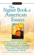 The Signet Book of American Essays (Signet…