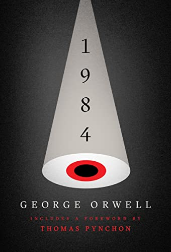 Nineteen Eighty-Four written by George Orwell