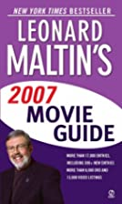 Leonard Maltin's Movie Guide 2007 Edition by…