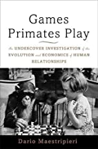 Games Primates Play: An Undercover…