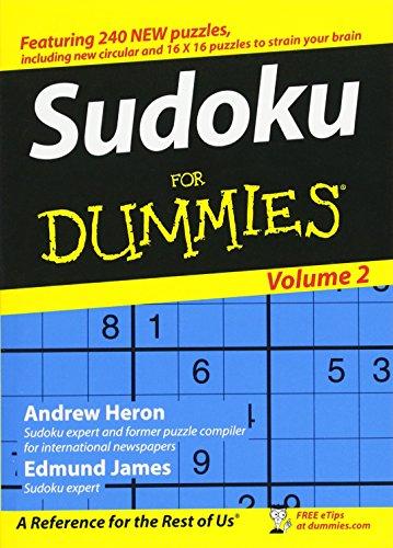 Sudoku for Dummies, Andrew Heron; Edmund James